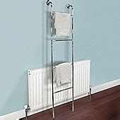 buy towel rails electric wooden towel racks tesco