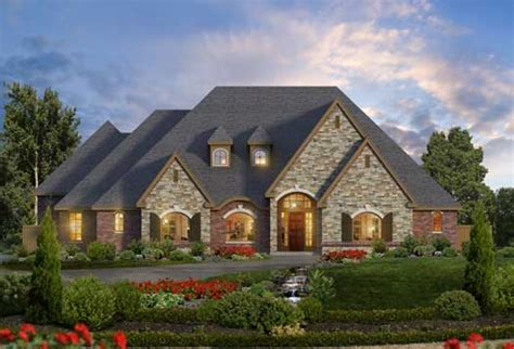 european style house plans luxury style house plans 3681 square foot home 1 story