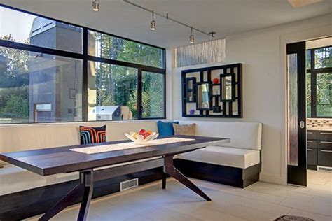 contemporary banquette 50 modern dining room designs for the super stylish
