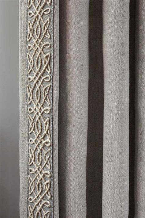 curtain braids trimmings the 25 best greige fabric ideas on pinterest gray and