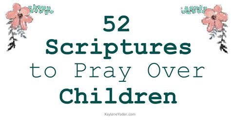 40 scripture based prayers to pray your books scripture prayer cards to pray children kaylene yoder