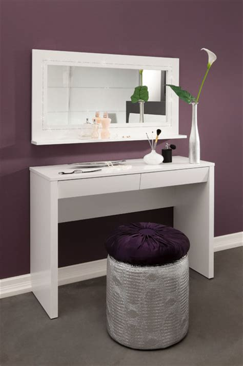 Bathroom Vanities With Dressing Table Starlight Dressing Table Desk And Mirror Modern Bathroom Vanities And Sink Consoles By