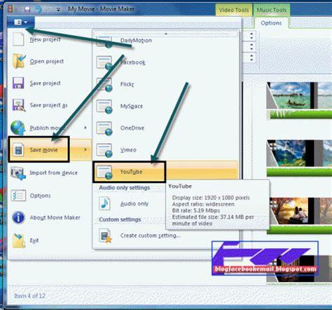 cara membuat video presentasi menggunakan movie maker cara detail membuat video menggunakan windows movie maker