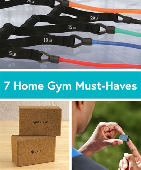 must fitness equipment for your home by