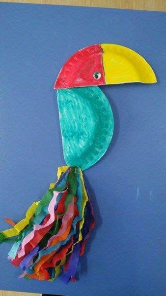 toucan craft for 25 best paper plate animals ideas on