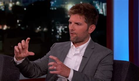 adam scott jimmy kimmel adam scott talks about his tiny prosthetic penis for the
