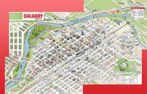 maps calgary canada 3d mobimaps map guides calgary maps