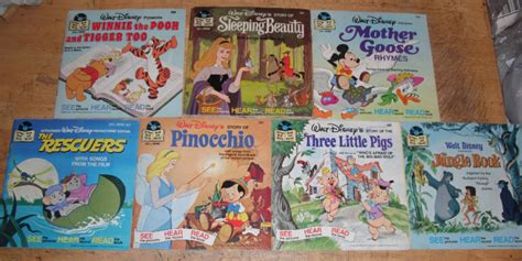 Disney Comics The King Read And Play disney read along book and records jpg