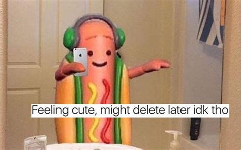 Hot Dog Girl Meme - snapchat s dancing hotdog is a huge giant meme look it