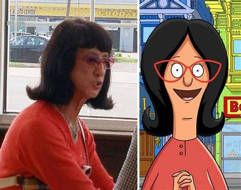 linda hunt the incredibles edna mode celebrity 19 people who look exactly like a famous cartoon character
