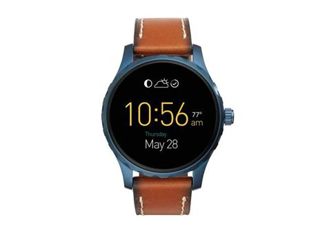 Smartwatch Fossil Q Wander Fossil Adds Two New Smartwatch At Baselworld 2016 The Q