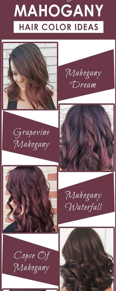 change hair color online for more convenience tips ideas advices best 25 mahogany hair colors ideas on pinterest