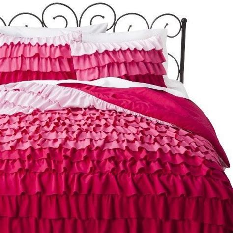 xhilaration comforter set xhilaration 174 ruffle comforter set