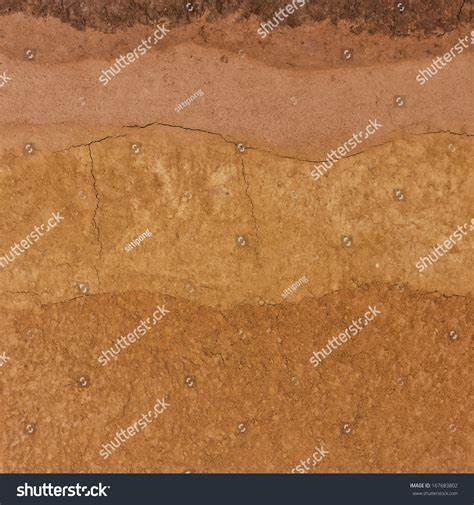 underground soil layers powerpoint template backgrounds layer soil underground stock photo 167683802 shutterstock