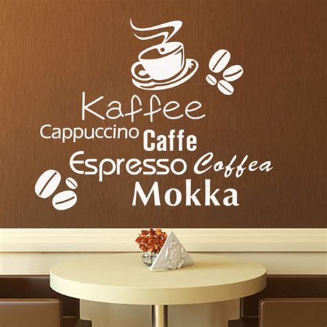 coffee wall stickers aliexpress buy delicious coffee cup vinyl quote