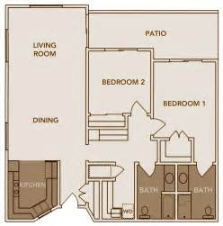 2 Bed 2 Bath Floor Plans Floor Plans Inland Christian Home A Multi Level Senior Living Community