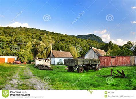 imagenes de la vida rural vida rural foto de stock imagem 56935092