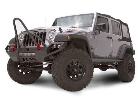 Jeep Wrangler Stinger Fab Fours Jk07d18531 Fab Fours Vengeance Stinger Front