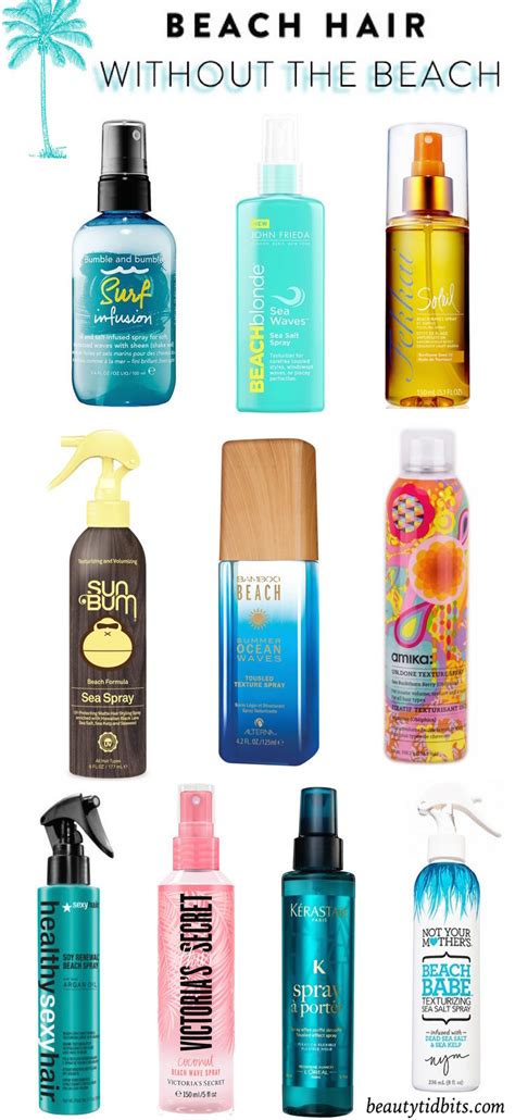 the best spray beachy waves in a bottle the best texturizing sprays for