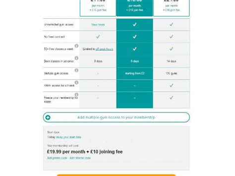 pure gym promo codes discount codes