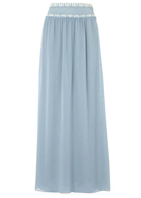 light blue chiffon skirt burch light blue silk chiffon maxi skirt in
