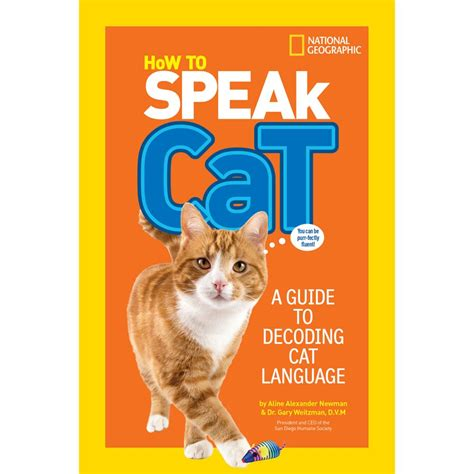 cat picture books how to speak cat national geographic store
