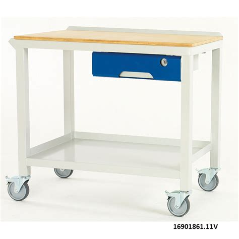 Steel Workbenches With Drawers by Bott Basic Fully Welded Steel Workbenches With Drawer
