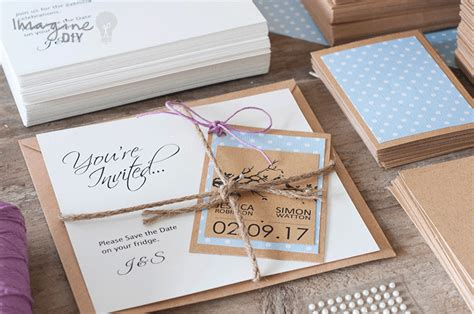 make save the date cards how to make pretty save the date cards with tags
