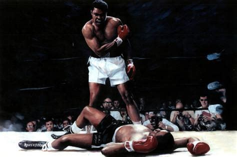 Wwe Wall Murals muhammad ali vs sonny liston sports poster posters at
