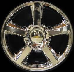 Chrome Chevy Truck Wheels New Chevy Silverado Tahoe Suburban Avalanche Ltz 20 034