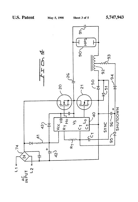 what is mos integrated circuit patent us5747943 mos gate driver integrated circuit for ballast circuits patents