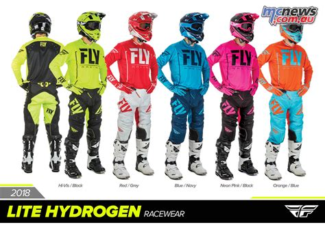 fly racing motocross gear fly racing 2018 racewear full ranges revealed mcnews com au