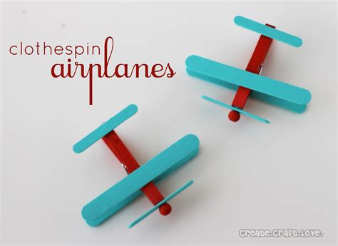 clothespin crafts diy clothespin airplanes the frugal