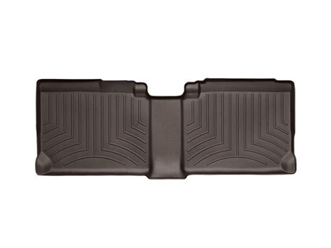 buy weathertech floor mats floorliner for gmc terrain 2011 2016 2nd row cocoa motorcycle