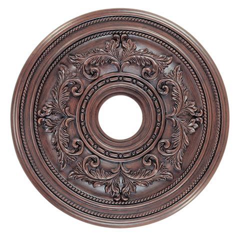 Light Fixture Medallion Ceiling Medallion Lighting Fixture Imperial Bronze Livex Manchester 8200 58 Ebay
