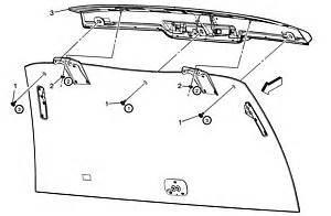2005 Cadillac Cts Third Brake Light Repair Www Ledfix Offers Cadillac Led High Mounted Third