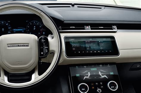 velar land rover interior 2018 land rover range rover velar first look