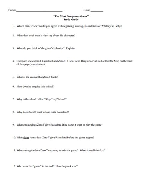 The Most Dangerous Worksheet 7th grade 187 compare and contrast worksheets 7th grade