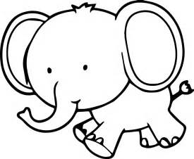 what color is an elephant small elephant coloring page wecoloringpage