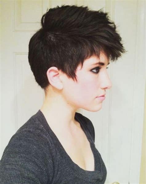 undercut haircuts for round face pixie undercut round face www pixshark com images