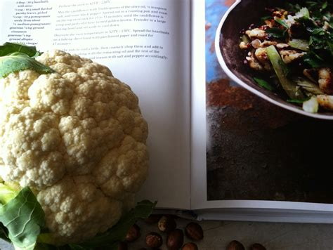 jerusalem roasted cauliflower  hazelnut salad jane