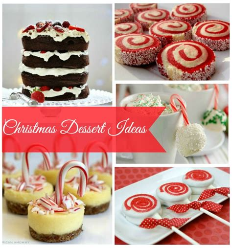 recipe ideas xmas dessert recipe ideas