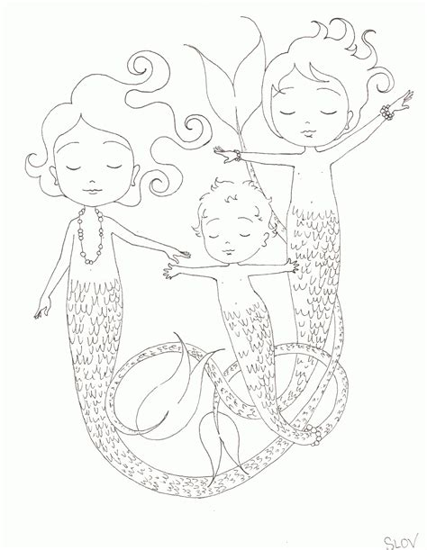coloring page baby mermaid baby mermaid coloring pages coloring home