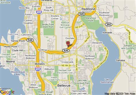 seattle map redmond courtyard by marriott seattle bellevue redmond bellevue