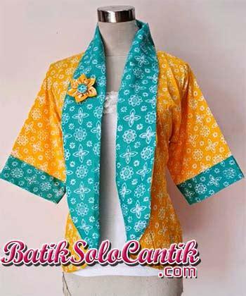 Bolero Batik Bolak Balik Cardigan Batik Blazer Batik batik blazer baju kerja batik page 8