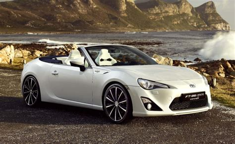 scion convertible scion fr s convertible previewed in toyota ft86 open