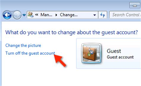 windows 7 password reset guest account how to enable the guest account in windows 7