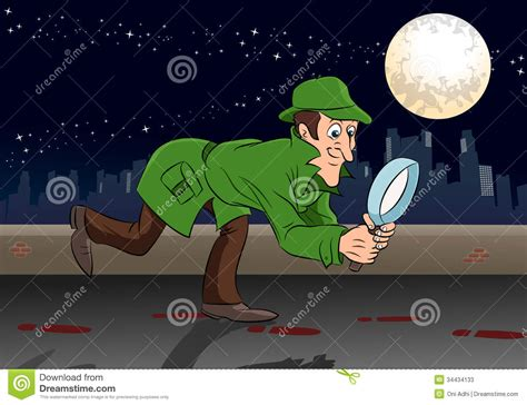 Search Detective Detective Search Stock Photos Image 34434133