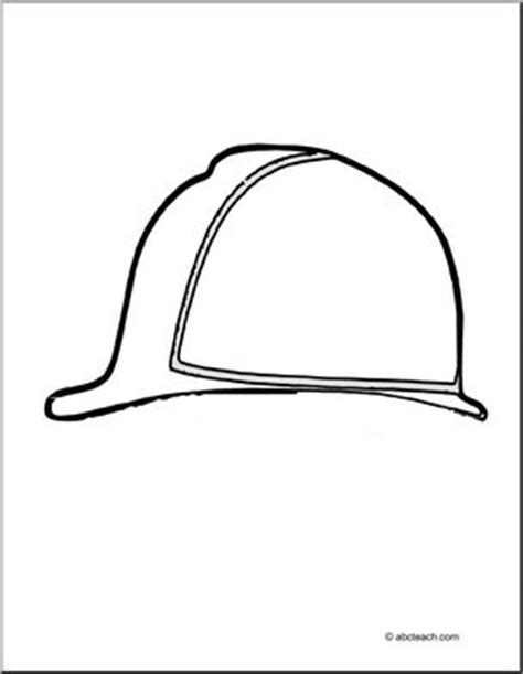 construction hard hat coloring pages