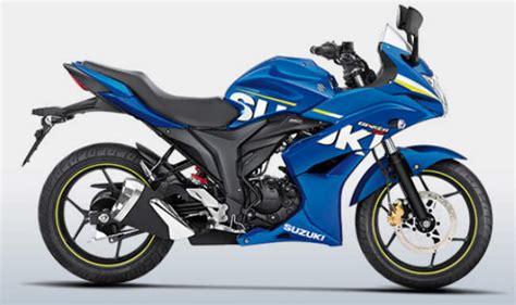 Suzuki Gixxer Bike Price Suzuki Gixxer Sf Bike Launched In India Price Rs 83 439